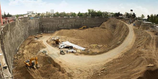 عملیات خاکی گودبرداری و سازه نگهبان براساس مقررات ملی ساختمان